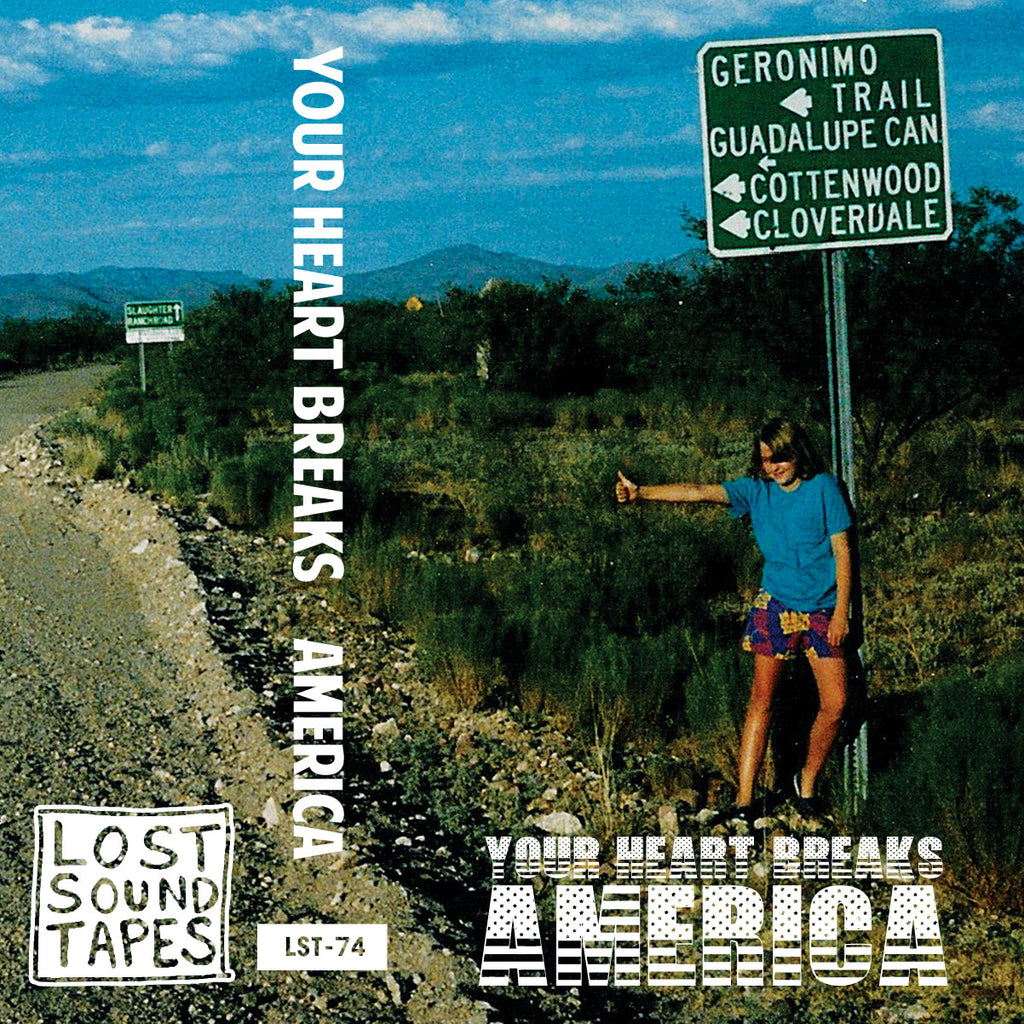 "YOUR HEART BREAKS ""America"" cassette tape"