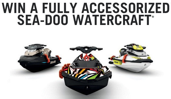 Enter to WIN a Sea-Doo from BRP