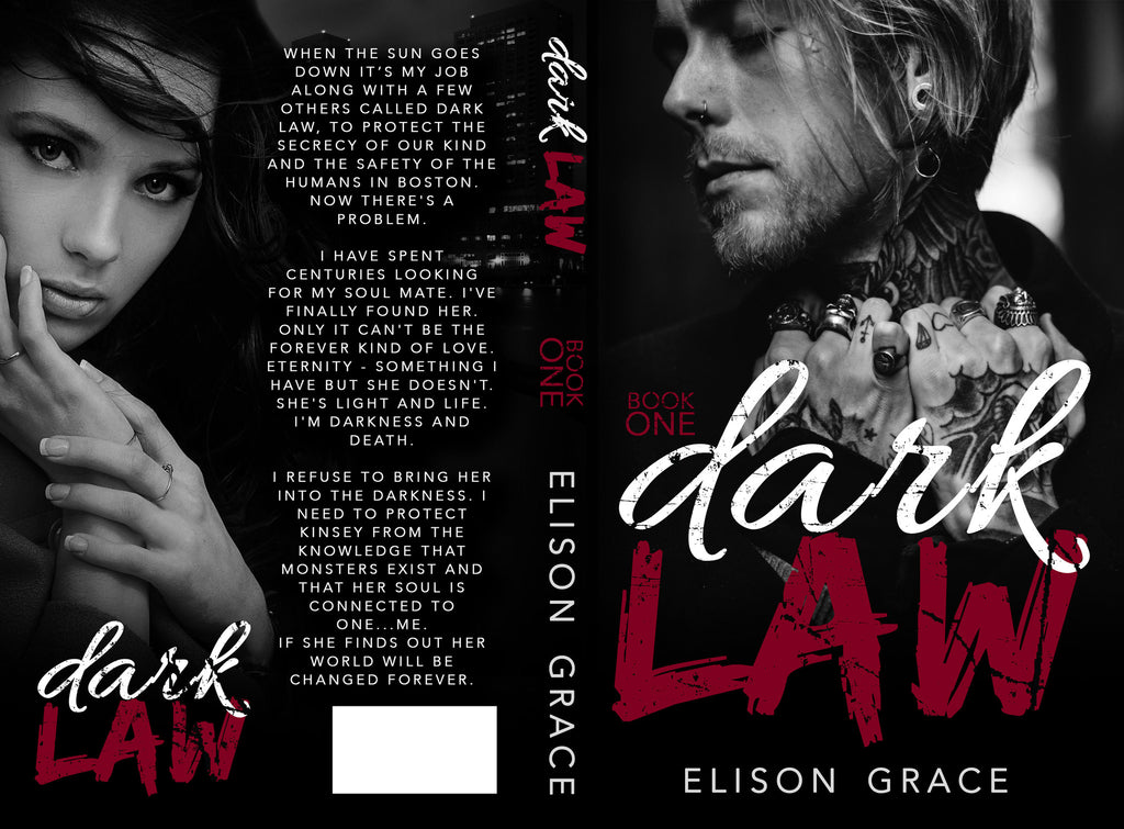 ** COVER REVEAL ** Dark Law by Elison Grace