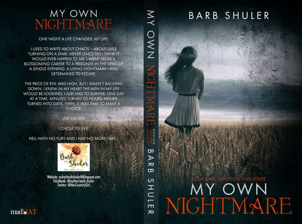 ** Cover Reveal ** My Own Nightmare by Barb Shuler