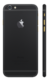 Custom iPhone 6 Plus Matte Black Housing