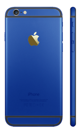 Custom iPhone 6s Matte Blue Housing