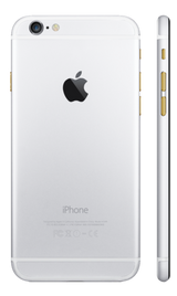 Custom iPhone 6 Plus Matte White Housing