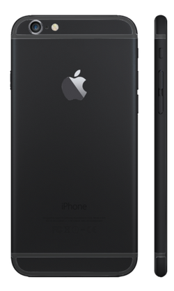 Custom iPhone 6s Plus Matte Black Housing