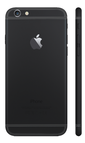 Custom iPhone 6s Matte Black Housing