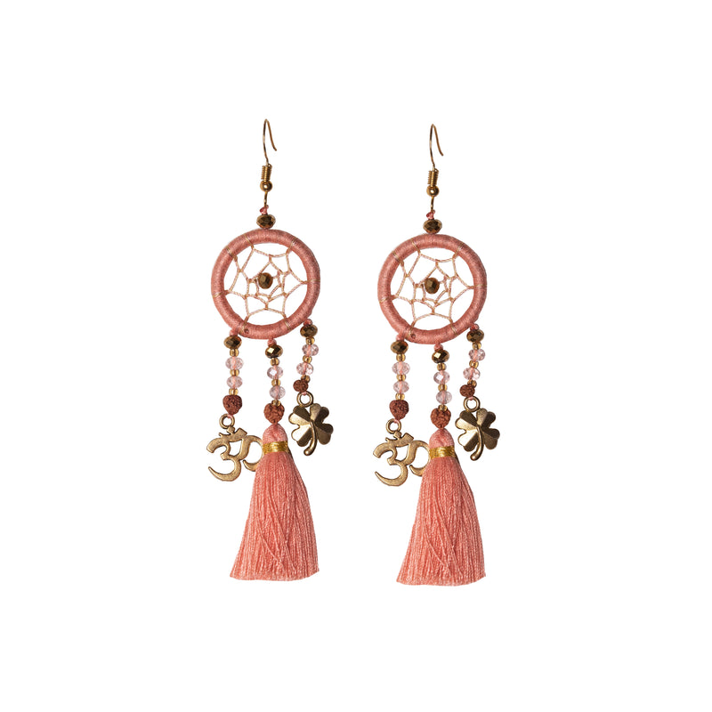 Peachy Dream Earrings - Corail Blanc