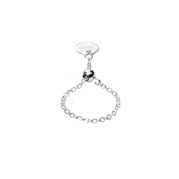 Stacker Ring in Silver - Corail Blanc