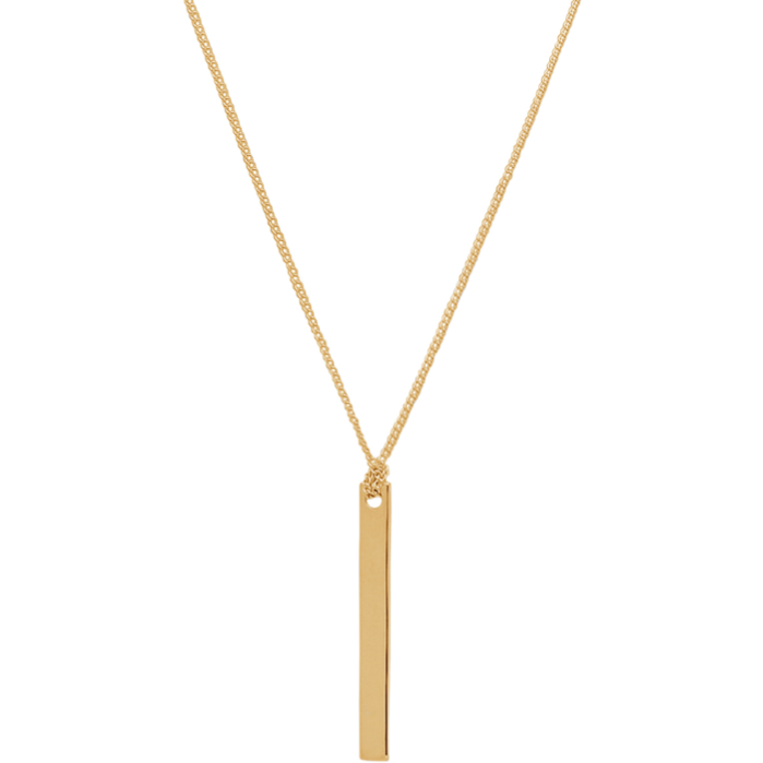 Rosie Necklace in Gold - Corail Blanc