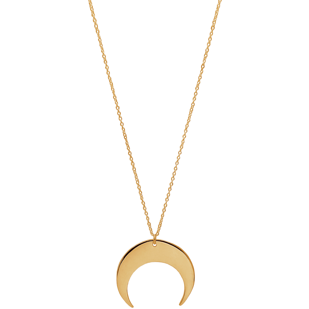Sabrina Necklace in Gold - Corail Blanc