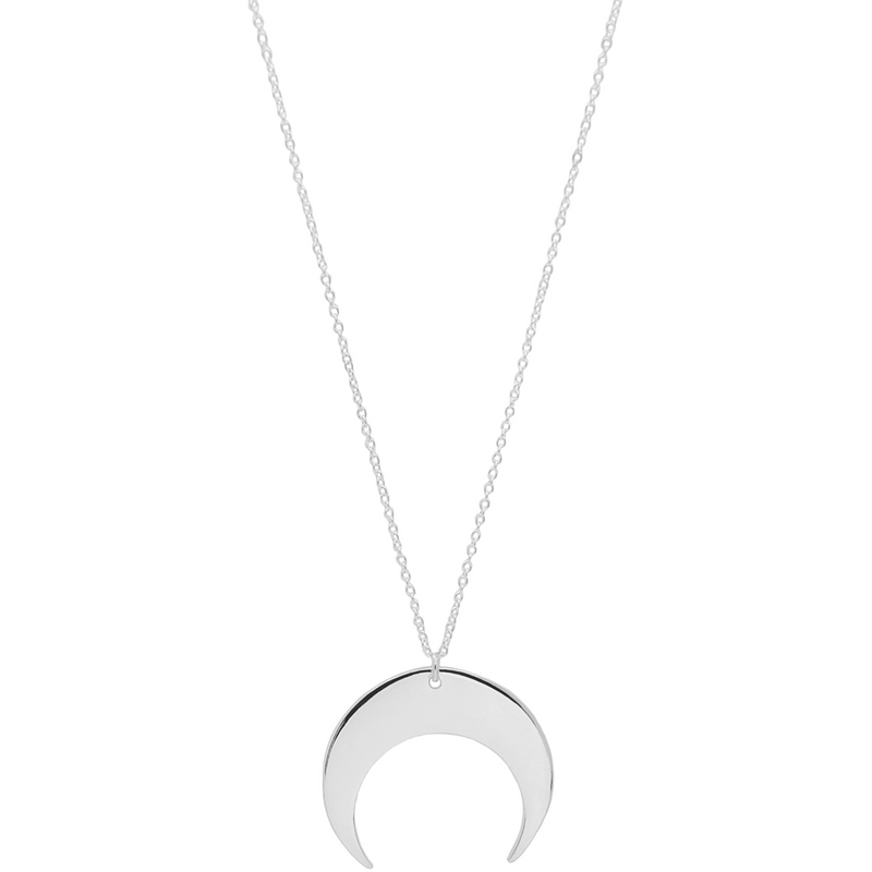 Sabrina Necklace in Silver - Corail Blanc