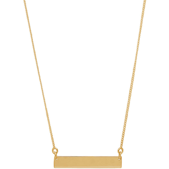 Simone Necklace in Gold - Corail Blanc