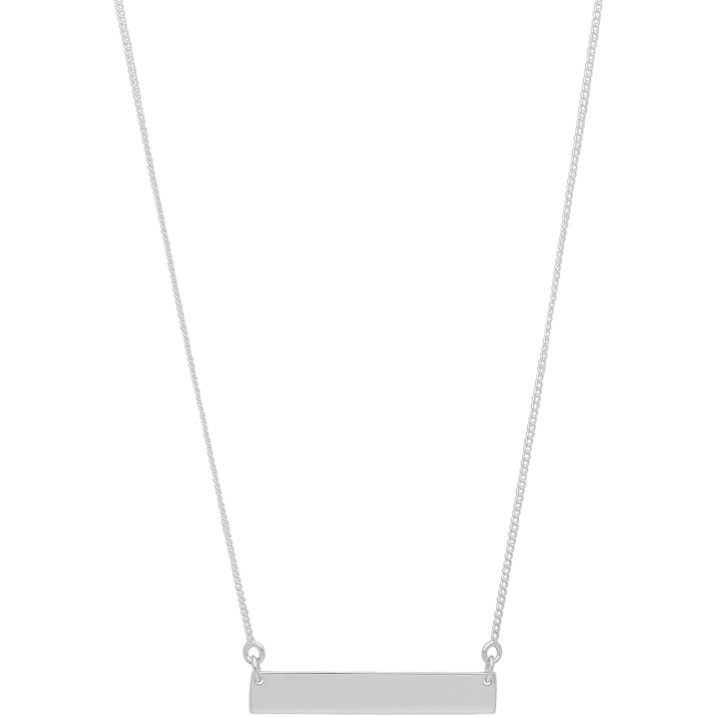 Simone Necklace in Silver - Corail Blanc
