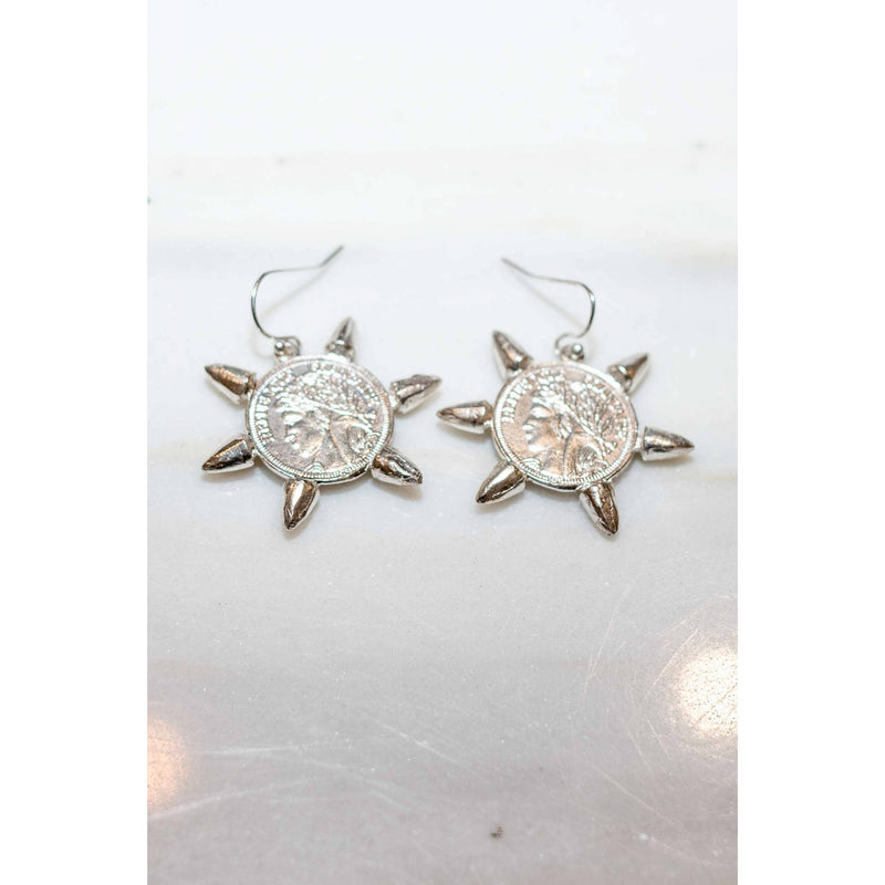 Fate Earrings in Silver - Corail Blanc