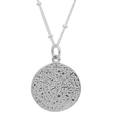 Romy Double Pendant in Silver - Corail Blanc