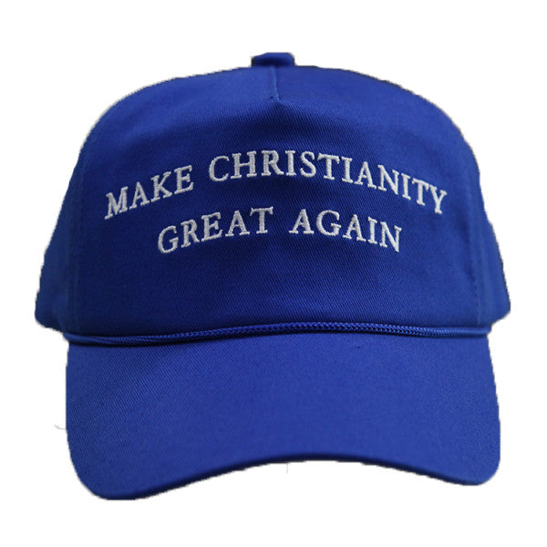 Make Christianity Great Again, Blue Hat