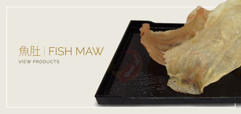 Fish maw products