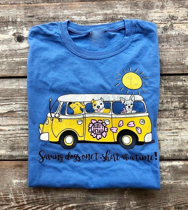 Rollin' Rescue Pups Short Sleeve Tee