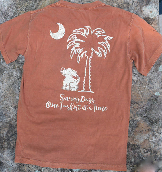 Short Sleeve Pocketed Palmetto Skies Yam Tee