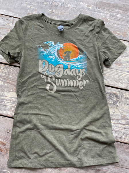 Dog Days of Summer Fitted  Tee
