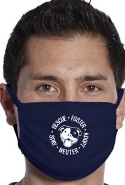 Navy Adopt Rescue Foster Mask