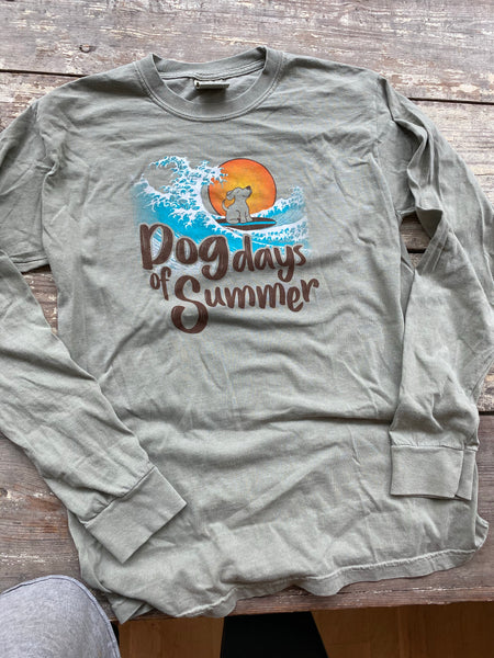Dog Days of Summer Long Sleeve Tee