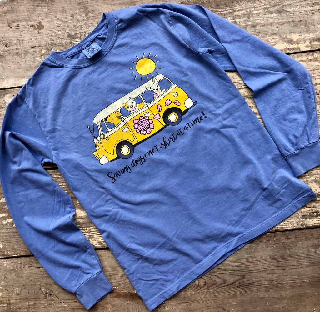 Rollin' Rescue Pups Long Sleeve Tee