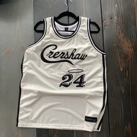 PRE ORDER SALE Crenshaw in Off White Black #24 MAMBA