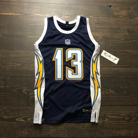 Freestyle Cut & Stitch Basketball X LAC Home Navy 2007 #13