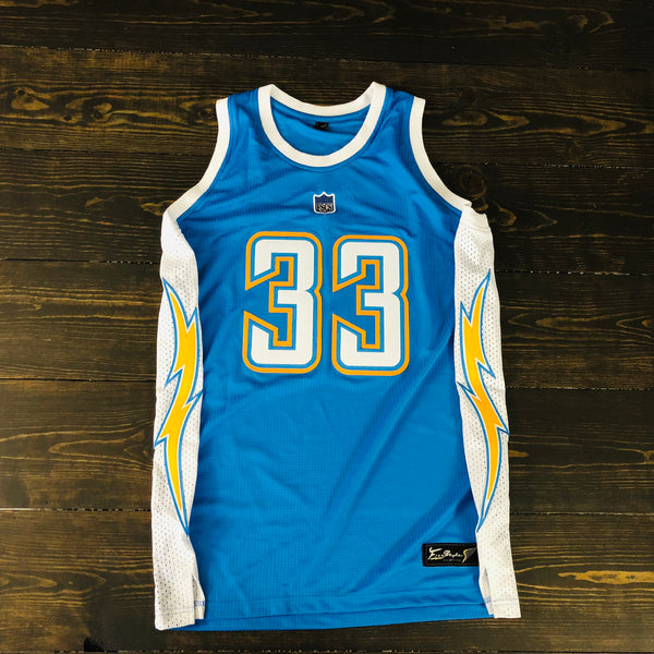 Freestyle Basketball Jersey X LAC Powder 2007 #33