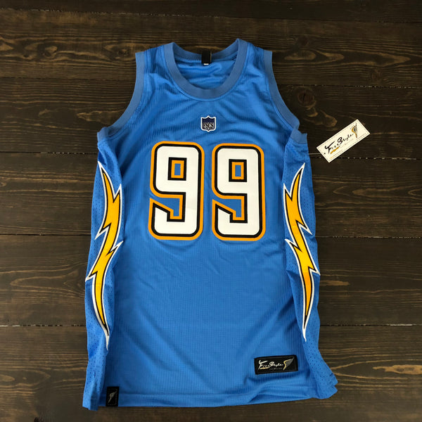 Freestyle Basketball Jersey X LAC Powder Solid #99