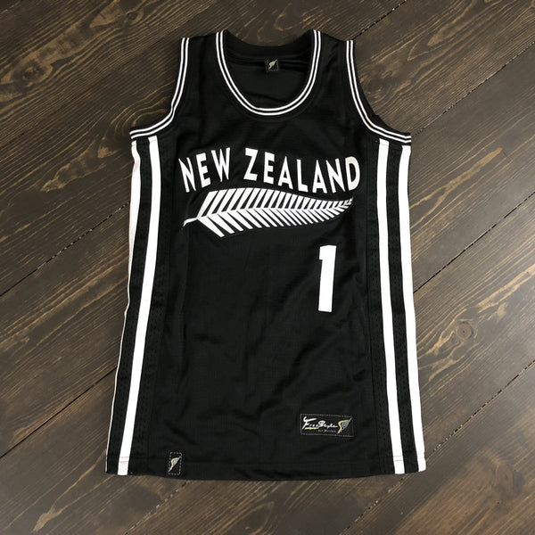 Freestyle Basketball Jersey X NZ Black Ferns Rugby #1