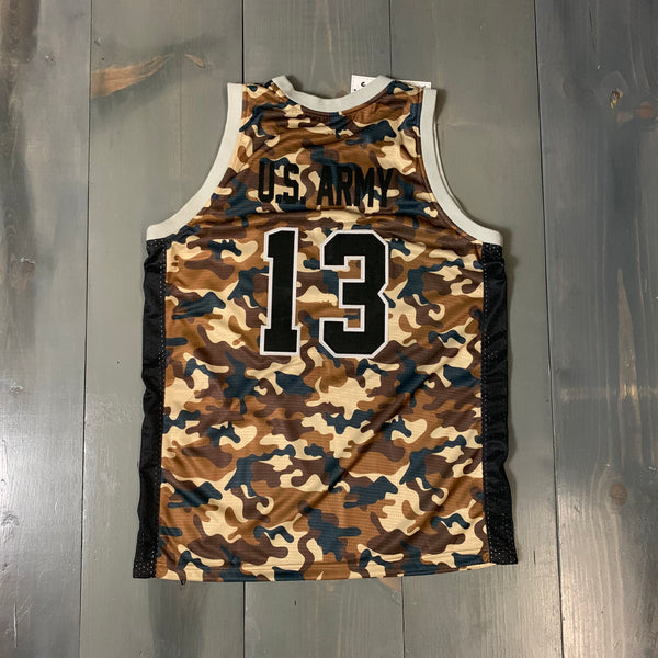 Freestyle Basketball Jersey X Friars X Desert High Camo #13 US ARMY in black
