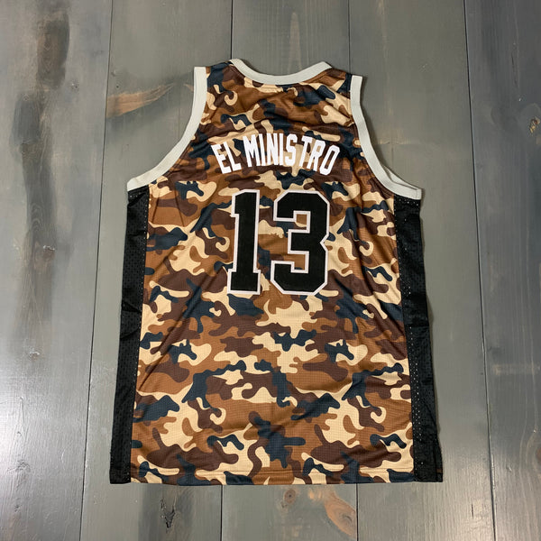 Freestyle Basketball Jersey X Friars X Desert High Camo #13 EL MINISTRO