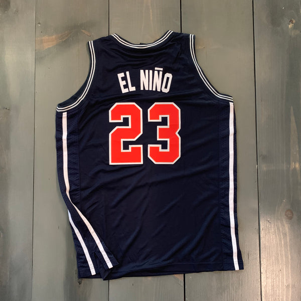 Freestyle Basketball Jersey X Friars 98 Navy #23 EL NINO