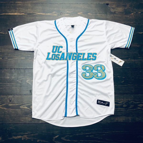 Freestyle Cut & Stitch Baseball X UC Los Angeles White Tribal #33