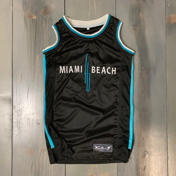 Freestyle Basketball Jersey X Fontainebleau Miami Beach Black