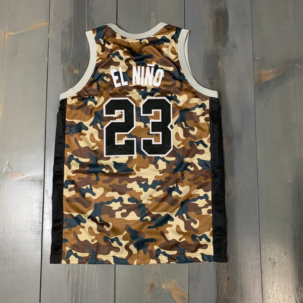 Freestyle Basketball Jersey X Friars X Desert High Camo #23 EL NINO