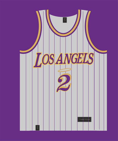 Los Angels in Gray Purple Gold MAMBACITA #2