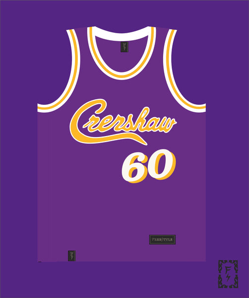 PRE ORDER SALE Crenshaw in Laker Purple #60 HU$$LE