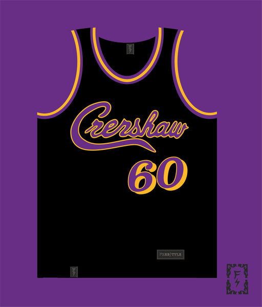 PRE ORDER SALE Crenshaw in Black Purple #60 HU$$LE