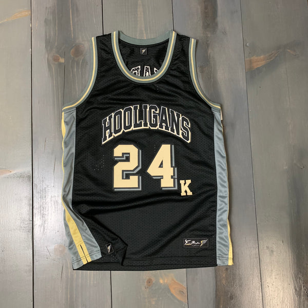 Freestyle Basketball Jersey X Bruno Mars 24K Black