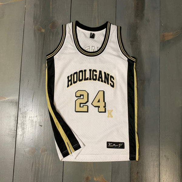 Freestyle Basketball Jersey X Hooligans Mars 24K White Gold