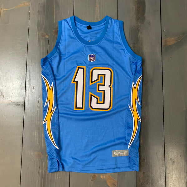 Freestyle Basketball Jersey X LAC Powder Solid #13