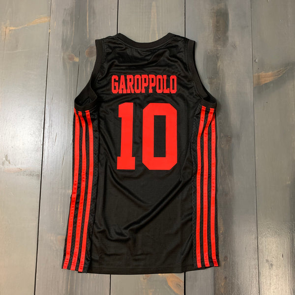 Freestyle Basketball Jersey X SF Black Red #10