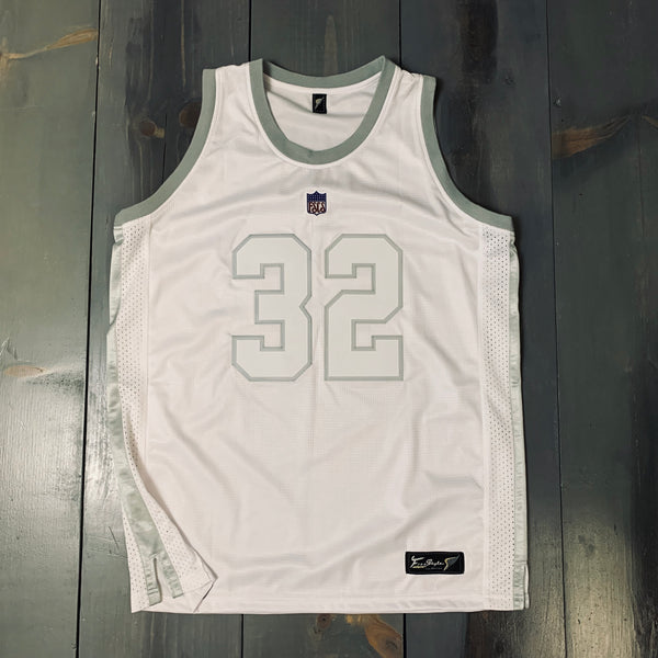 Freestyle Basketball Jersey X OAK White Silver #32