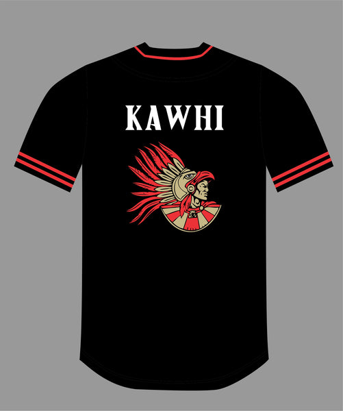 PRE ORDER SALE The Show Baseball Jersey in Black #15 KAWHI