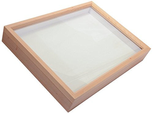 EMPTY BOX FRAMES LINED WITH PLASTAZONE FOAM | AIR TIGHT GLASS LID | MUSEUM QUALITY