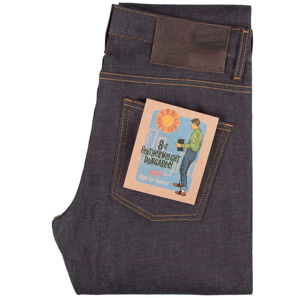 N&F Super Skinny Guy - Featherweight Dungaree Selvedge