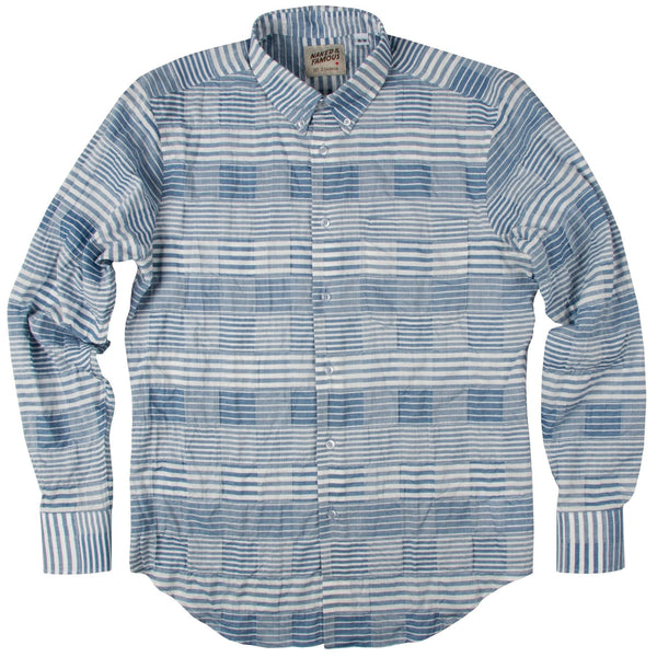 N&F Regular Shirt - Striped Windowpane