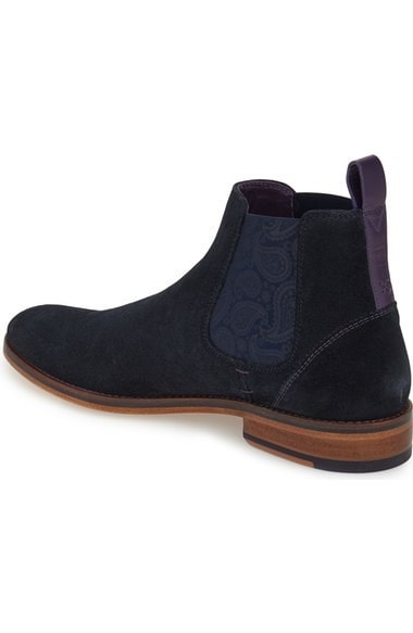 TED BAKER CAMROON 4- NAVY SUEDE